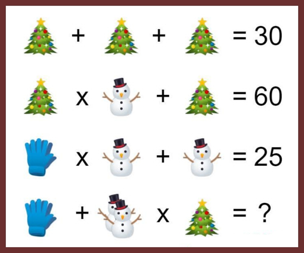 Gloves, Christmas Tree Puzzle
