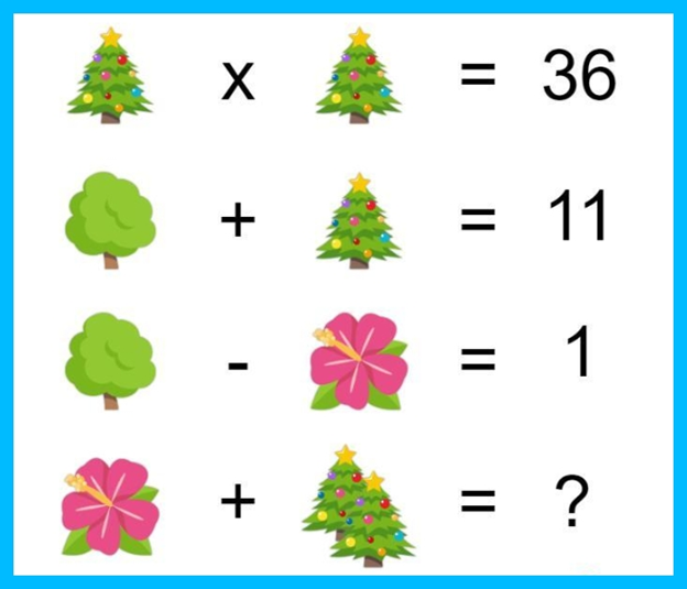Flower, Christmas Tree Puzzle