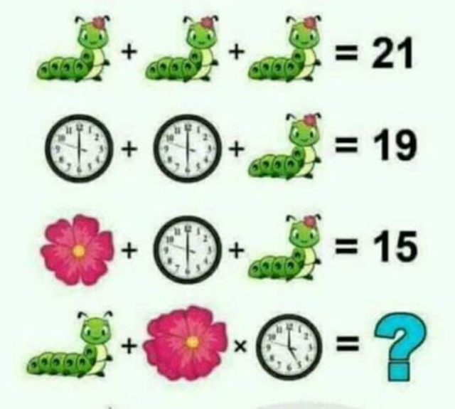 Caterpillar, Flower, Clock Puzzle